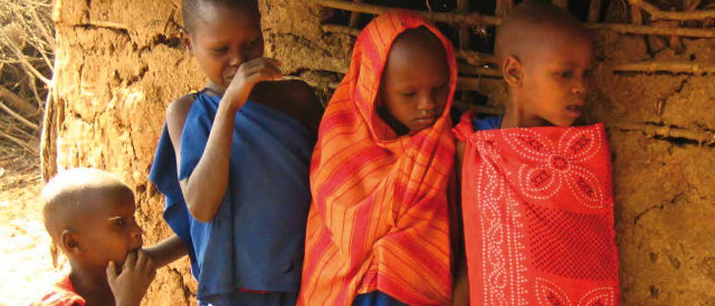 Waisenkinder am Kilimandscharo